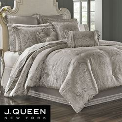 Corinna Comforter Set Silver