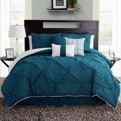 Callie Comforter Bed Set Sapphire
