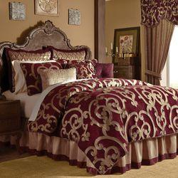 Shasta Comforter Set Merlot