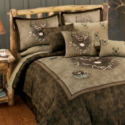 Whitetail Ridge Comforter Set Brown
