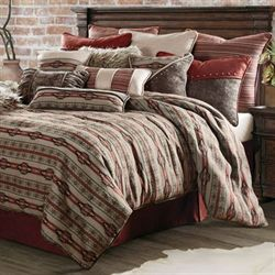 Silverado Comforter Set Multi Earth