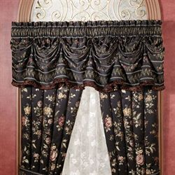 Astoria Tuck Valance Black 90 x 20