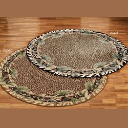 DS Jungle Safari Round Rug
