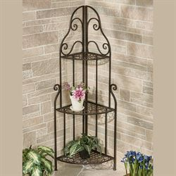 Fruitful Love Corner Etagere Bronze