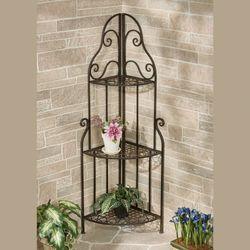 Fruitful Love Corner Etagere Bronze