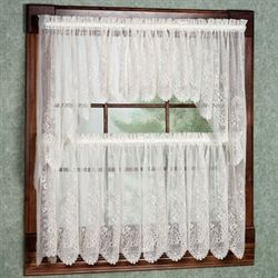 kitchen curtain sets clearance. Floret Tailored Tier Kitchen Curtains  Window Treatments Touch of Class