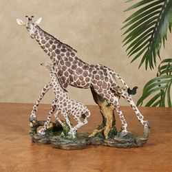 Strong Ties Giraffe Sculpture Multi Earth