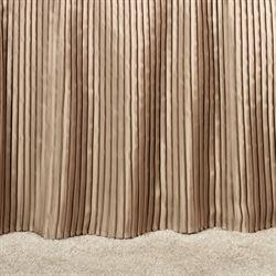 Mini Pleat 14 inch Gathered Bedskirt