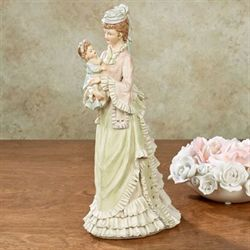 Motherhoods Bliss Lady Figurine Multi Pastel