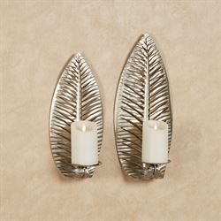 Palmer Wall Sconces Platinum Set of Two