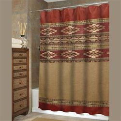Sonorah Shower Curtain Tan 72 x 72