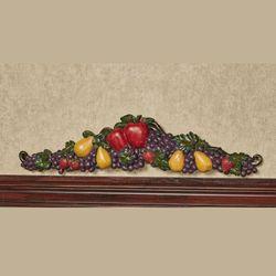 Tuscan Fruit Decorative Topper Multi Jewel