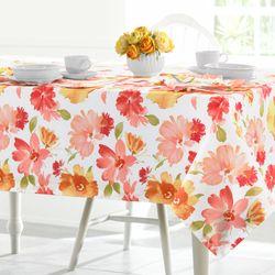 Midori Oblong Tablecloth White 60 x 84