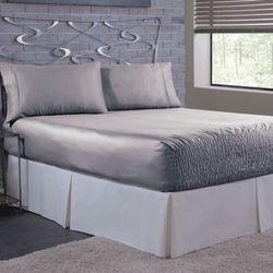 Bed Tite Satin Sheet Set
