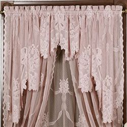 Garland Lace Swag Valance Pair Touch Of Class