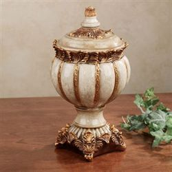 Novella Taupe Decorative Jar