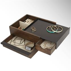 Indra Jewelry Box Walnut