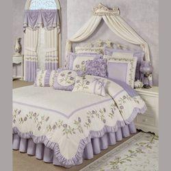 Lavender Rose Comforter Set