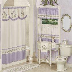 Lavender Rose Shower Curtain 72 X