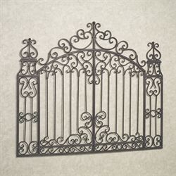 Gates of Tuscany Wall Grille Tuscan Slate