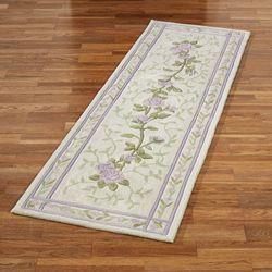 Lavender Bloom Rug Runner 26 x 8