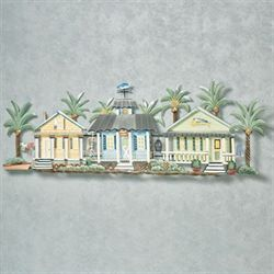 Caribbean Getaway Wall Sculpture Multi Cool