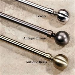Lexington Ball Rod and Finial Set
