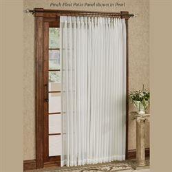 Larvotto Pinch Pleated Patio Panel 96 x 84