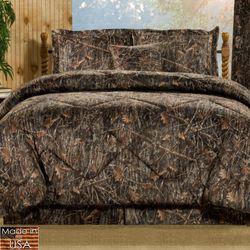 Conceal Brown Mini Comforter Set Multi Warm