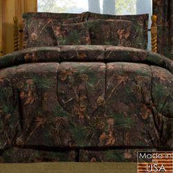 Mixed Pine Mini Comforter Set Multi Warm