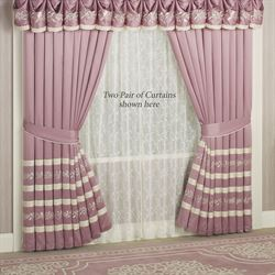 Allegro Tailored Curtain Pair