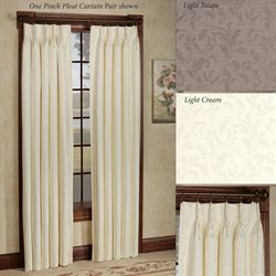 Dover Calais Pinch Pleat Drape Pair