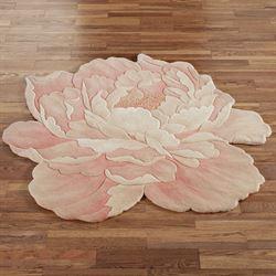 Juliette Round Flower Rug