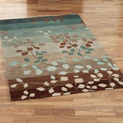 Sydney Leaf Rectangle Rug