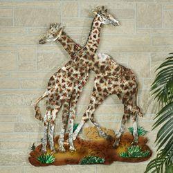 Sahara Pride Giraffe Wall Sculpture