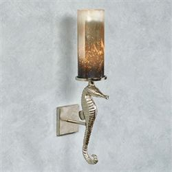 Seahorse Hurricane Wall Sconce Aluminum