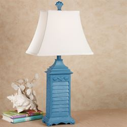 Shell Shutter Table Lamp  Each