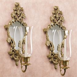 Athea Mirrored Wall Sconce