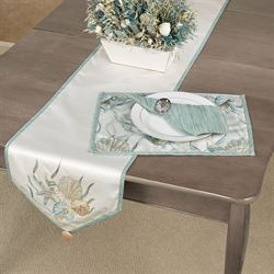 Coastal Dream Table Runner Multi Cool 14 x 72