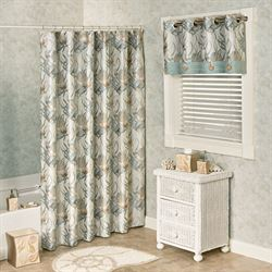 Coastal Dream Shower Curtain Multi Cool 76 x 72
