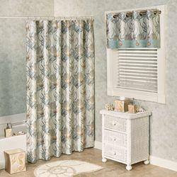 Coastal Dream Shower Curtain Multi Cool 76 x 72