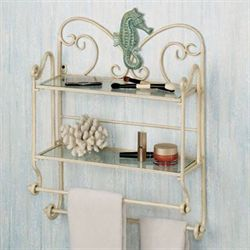 Sea Breeze Bath Wall Organizer Sand