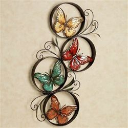 Butterfly Jubilee Wall Accent Multi Jewel