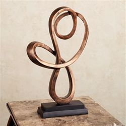 Minami Table Sculpture Bronze