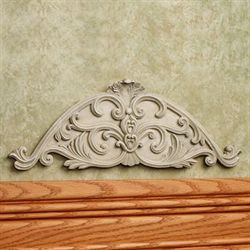 Novara Scroll Wall Accent Ivory