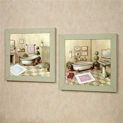Garran Washtub Wall Art Set Multi Pastel Set of Two