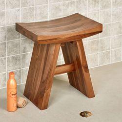 Jona Teak Wood Asian Style Bench