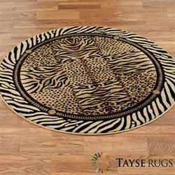 DS Festival Jungle Round Rug