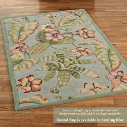 Flora Tropic Rectangle Rug