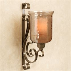 Benguella Bronze Metal Wall Sconce